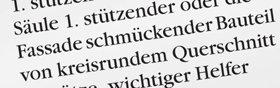 """7. Klären Sie nun die Herkunft des Wortes. Sie sehen, dass es ursprünglich vom lateinischen Wort """"cancelli"""" hergekommen ist, was """"Einzäunung"""" oder """"Schranken"""" bedeutet. Wenn es zu dem Wort irgendwelche Angaben über Synonyme, Hinweise zum Gebrauch oder Idiome gäbe, dann würden diese ebenfalls alle geklärt werden. Damit wäre das Klären des Wortes """"Kanzel"""" beendet."""