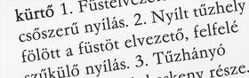 """Ezután tisztázza a szó eredetét. Azt találja, hogy eredetileg a görög kaminosz szóból ered, amelynek a jelentése """"kemence"""". Ha bármi megjegyzés van a szóról, annak használatáról, rokon értelmű szavairól vagy idiómáiról, akkor azokat is tisztázni kell. Ezzel vége a """"kémény"""" szó tisztázásának."""
