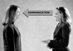 Good manners require a two-way communication cycle between oneself and the other person.