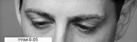 מה שאדם עושה עם עיניו יכול לעזור לך לאתר את מיקומו בסולם הטונים.