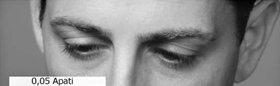Vad en person gör med ögonen kan hjälpa en att lokalisera honom på tonskalan.