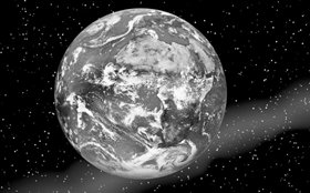 第六動力──是以物質宇宙的形式朝向存在的渴望。 是為了物質宇宙──它有四個組成部分:物質、能量、空間、時間,提高其生存性。 人確實有為物質宇宙求生存的推力。