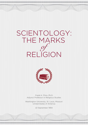 The Church of Scientology A History of a New Religion