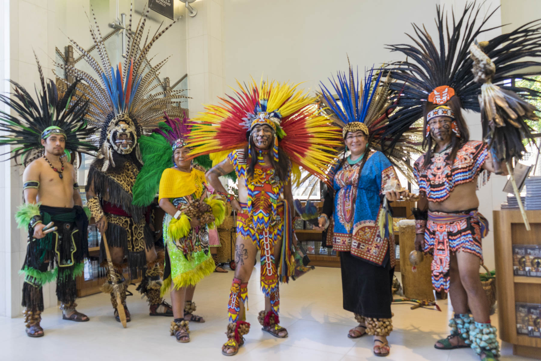 Aztec culture featured at the first of four interfaith forums at the Church of Scientology Los Angeles.