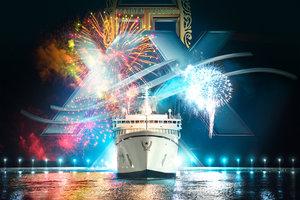 30-årsdagen for Fejringen af  Freewinds'   Jomfrurejse Hylder Med Stor Glæde 365 Dage med Monumentale Scientology Bedrifter