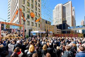 Made in Detroit: Eine neue Scientology Kirche befindet sich jetzt am Eckpfeiler der Motor City, USA