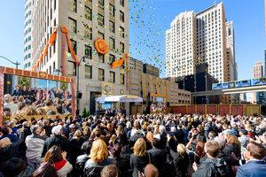 """מיוצר בדטרויט: ארגון  Scientology   חדש עומד עכשיו באבן הפינה של עיר המכוניות, ארה""""ב"""