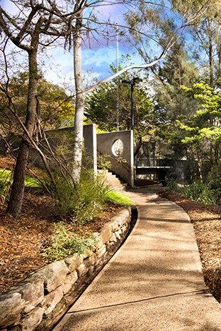 Il panorama della Chiesa di Scientology di Sidney