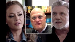 Pastor Willy Rice with Friends Mike Rinder and Leah Remini