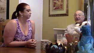 George and Dana Remini on his daughter, Leah