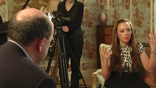 Leah Remini: Interview with the BBCin2007