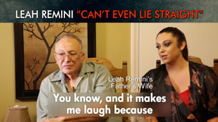 "Leah Remini ""Can't Even Lie Straight"""