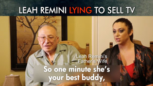 Leah Remini Lying to Sell TV