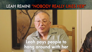 """Leah Remini. """"Nobody Really Likes Her"""""""