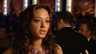 Leah Remini at the Celebrity Centre International Annual Gala in 2006.