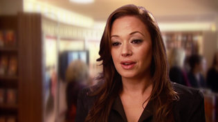 Leah Remini at the Inglewood Ideal Org opening in 2011