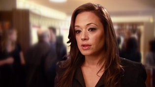 Leah Remini at the Inglewood Ideal Org Opening in 2011.