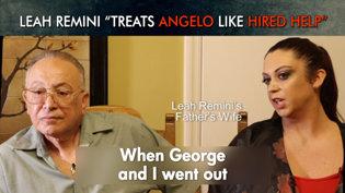 "Leah Remini ""Treats Angelo Like HiredHelp"""