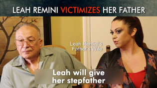 Leah Remini Victimizes Her Father