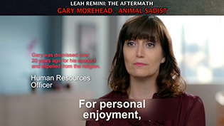Leah Remini Aftermath Guest GaryMorehead's Animal Abuse&Cruelty