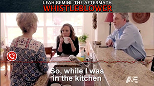 Leah Remini Aftermath: Whistleblower