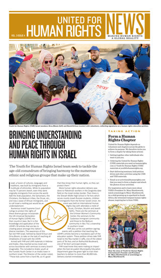 United for Human Rights – Newsletter 3. Jahrgang, Ausgabe 4