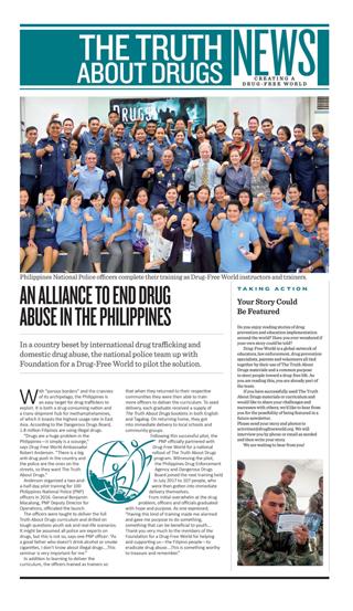 Newsletter di Mondo Libero dalla Droga