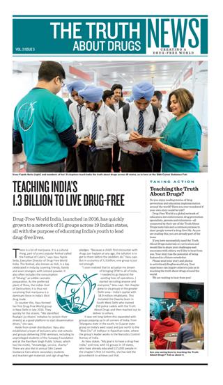 Mondo Libero dalla Droga, Newsletter