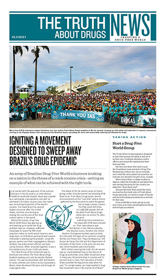 Drugsvrije Wereld Nieuws
