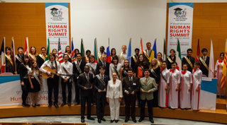 Delegates to the 9th Annual Human Rights Summit.