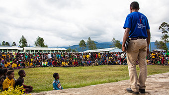 Bringing News of Human Rights to Papua New Guinea