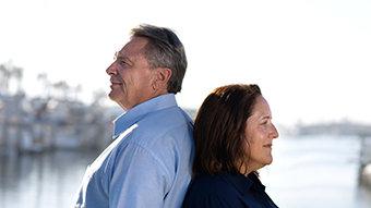 On Vet Unemployment: Mark and Tori Baird