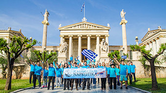 Scientologists Use DFW to Fight the New Scourge in Greece