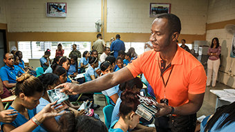 Armed with the Drug-Free World Program, One Man Fights Drug Abuse in the Caribbean