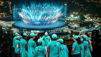 オリンピック:5500人の薬物防止ボランティアが活躍