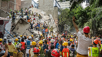 Central Mexico Earthquake