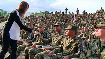 קולומביה: מורדים, צבא וזכויות האדם