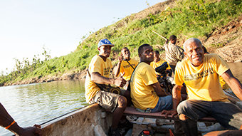 Fidschi: Leben wieder aufbauen