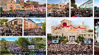 55 nuevas Iglesias constituyen los cimientos para un mundo mejor