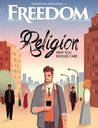 Freedom Magazine cover