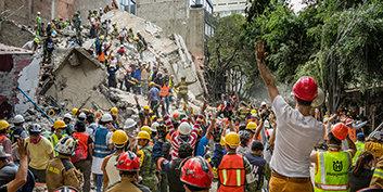 Mexico opplever lettelse med virkelig hjelp fra utrettelige frivillige prester