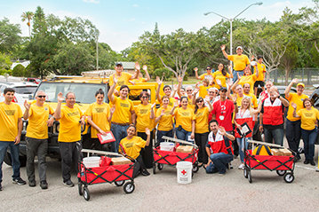 Volunteer Ministers with Red Cross