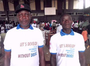 Narconon Ghana and Liberia staff