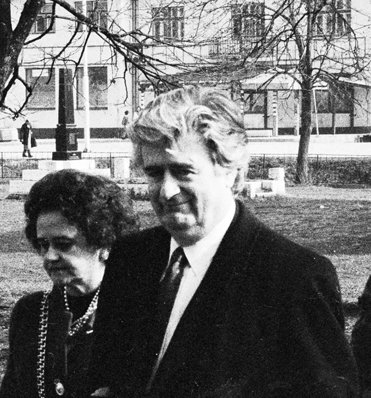 "The ""Butcher of Bosnia"", psychiatrist Radovan Karadzic"