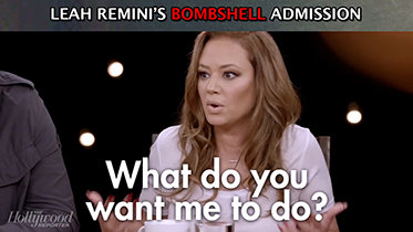 Leah Remini Bombshell Admission on THR