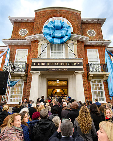 Scientology Kirken i Birmingham