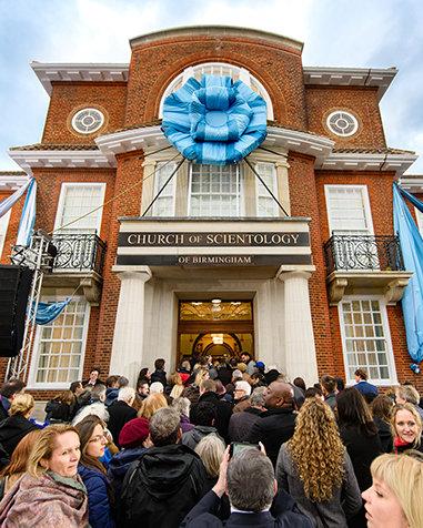 Scientology Kirken Birmingham, England