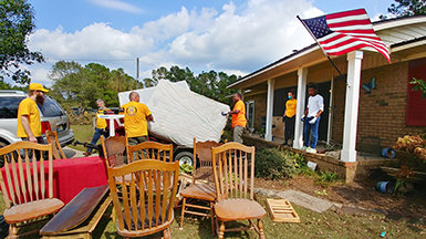 VM Disaster Response Following Hurricane Florence
