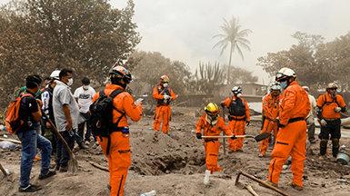 Volunteer Ministers Bringing Disaster Relief in Guatemala