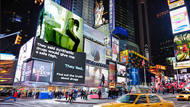 Bringing the Truth About Drugs to TimesSquare